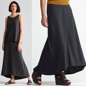 Eileen Fisher Maxi Skirt Hemp & Organic Cotton